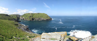 SX07043-07053 Panorama Tintagel Head and Castle from Barras Nose.jpg